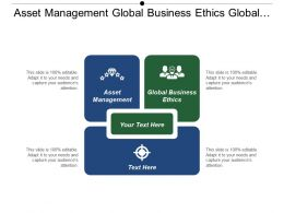 Asset Management Global Business Ethics Global Strategies Business Valuation Cpb