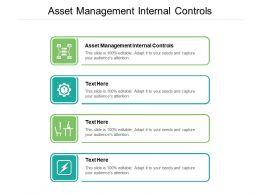 Asset Management Internal Controls Ppt Powerpoint Infographics Cpb