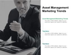 Asset Management Marketing Trends Ppt Powerpoint Presentation Show Cpb