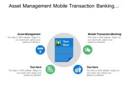 Asset Management Mobile Transaction Banking Business Development Project Planning