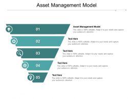 Asset Management Model Ppt Powerpoint Presentation Visual Aids Deck Cpb