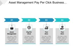 Asset Management Pay Per Click Business Marketing Strategies Social Network Cpb