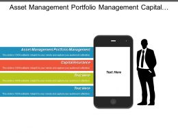 Asset Management Portfolio Management Capital Insurance Corporate Governance Cpb