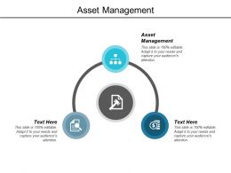 Asset Management Ppt Powerpoint Presentation Portfolio Cpb