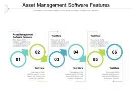 Asset Management Software Features Ppt Powerpoint Presentation Cpb
