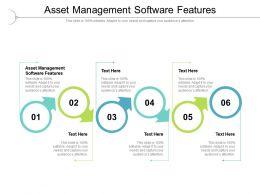 Asset Management Software Features Ppt Powerpoint Presentation Cpb