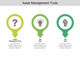 Asset Management Tools Ppt Powerpoint Presentation Layouts Templates Cpb