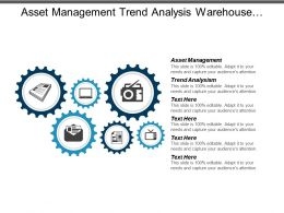 Asset Management Trend Analysis Warehouse Management Workforce Planning Cpb
