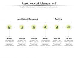 Asset Network Management Ppt Powerpoint Presentation Slides Clipart Images Cpb