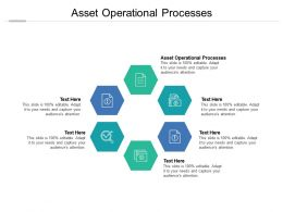 Asset Operational Processes Ppt Powerpoint Presentation Summary Visuals Cpb