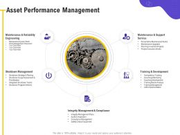 Asset Performance Management Engineering M492 Ppt Powerpoint Presentation Gallery Images