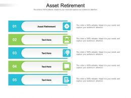 Asset Retirement Ppt Powerpoint Presentation Layouts Themes Cpb