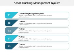 Asset Tracking Management System Ppt Powerpoint Presentation Icon Clipart Cpb