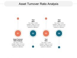 Asset Turnover Ratio Analysis Ppt Powerpoint Presentation Outline Cpb