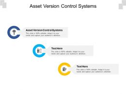 Asset Version Control Systems Ppt Powerpoint Presentation Styles Graphics Example Cpb