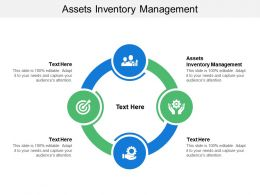 Assets Inventory Management Ppt Powerpoint Presentation Ideas Design Ideas Cpb