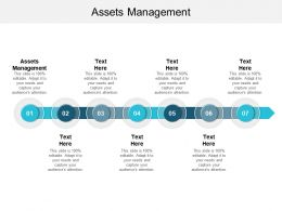 Assets Management Ppt Powerpoint Presentation File Diagrams Cpb