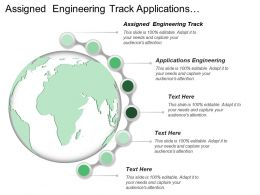 Assigned Engineering Track Applications Engineering Developing Learning Intelligence