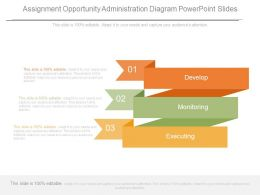 Assignment Opportunity Administration Diagram Powerpoint Slides