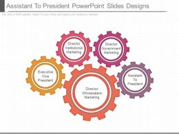 Assistant To President Powerpoint Slides Designs