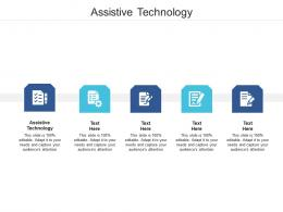 Assistive Technology Ppt Powerpoint Presentation Ideas Styles Cpb