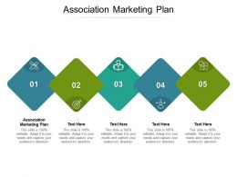 Association Marketing Plan Ppt Powerpoint Presentation Infographic Template Graphics Cpb
