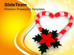 Assortment Of Best Christmas Candies PowerPoint Templates PPT Themes And Graphics 0513