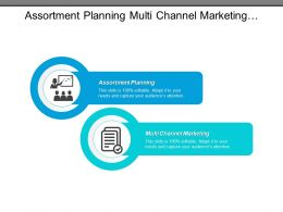 Assortment Planning Multi Channel Marketing Working Capital Media Buying Cpb