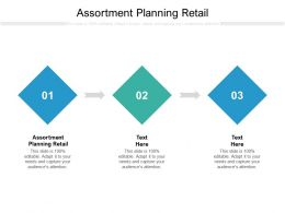 Assortment Planning Retail Ppt Powerpoint Presentation Files Cpb