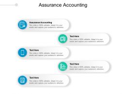 Assurance Accounting Ppt Powerpoint Presentation Infographic Template Rules Cpb