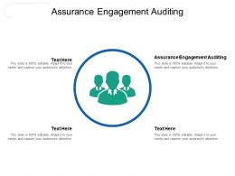 Assurance Engagement Auditing Ppt Powerpoint Presentation Shapes Cpb