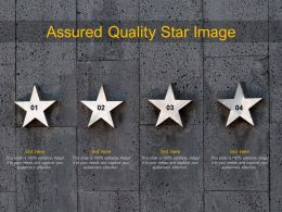 Assured Quality Star Image