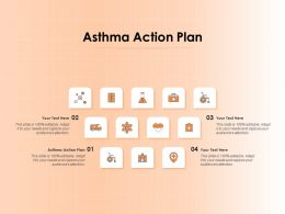 Asthma Action Plan Ppt Powerpoint Presentation Outline Demonstration