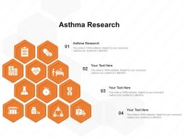 Asthma Research Ppt Powerpoint Presentation Pictures Guidelines