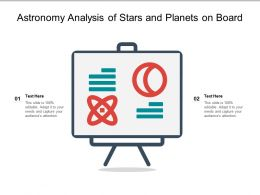 Astronomy Analysis Of Stars And Planets On Board