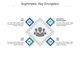 Asymmetric Key Encryption Ppt Powerpoint Presentation Infographic Template Model Cpb