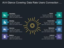 At A Glance Covering Data Rate Users Connection Networks Battery Mobility