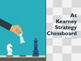 At Kearney Strategy Chessboard Powerpoint Presentation Slides
