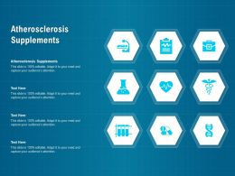 Atherosclerosis Supplements Ppt Powerpoint Presentation Styles Demonstration