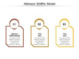 Atkinson Shiffrin Model Ppt Powerpoint Presentation Portfolio Design Templates Cpb