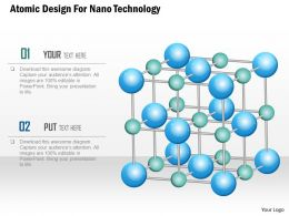 Atomic Design For Nano Technology Ppt Slides