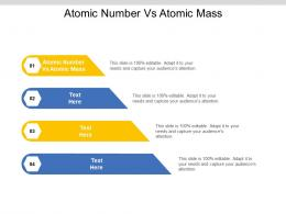 Atomic Number Vs Atomic Mass Ppt Powerpoint Presentation Infographic Template Brochure Cpb