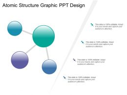 Atomic Structure Graphic Ppt Design