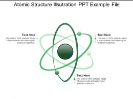 Atomic Structure Illsutration Ppt Example File
