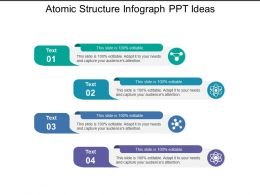 Atomic Structure Infograph Ppt Ideas