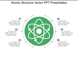 Atomic Structure Vector Ppt Presentation
