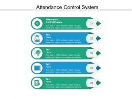 Attendance Control System Ppt Powerpoint Presentation Slides Gridlines Cpb
