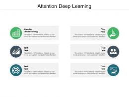 Attention Deep Learning Ppt Powerpoint Presentation Inspiration Master Slide Cpb