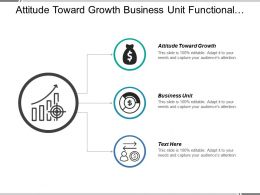 Attitude Toward Growth Business Unit Functional Strategies Resource Productivity