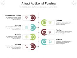 Attract Additional Funding Ppt Powerpoint Presentation Slides Mockup Cpb